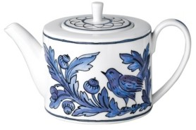 Twig New York Blue Bird Tea Pot
