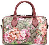 Gucci Blooms Print Gg Supreme Top Handle Bag