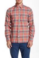 Jack Spade Sanford Plaid Long Sleeve Modern Fit Shirt