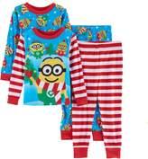 Disneypixar Toddler Boy Despicable Me 3 Minion Holiday Pajama Set