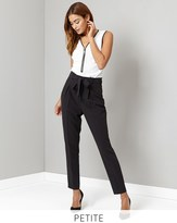 Lipsy Petite Tie Front Trousers