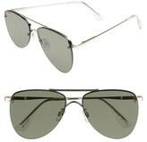 Le Specs Women's 'The Prince' 57Mm Sunglasses - Gold