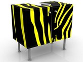 Design Vanity Zebra Pop 60x55x35cm, small, 60cm wide, adjustable, wash basin, vanity unit, washstand, bathroom cupboard, base unit, bathroom, narrow, flat
