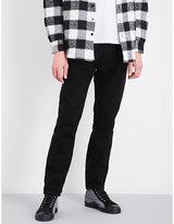 424 Bandana turn-up slim-fit skinny jeans
