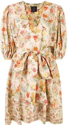 Romance Was Born Foxworth Hall floral midi dress