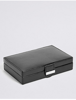 M&S Collection Cufflink Box