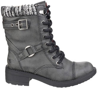 Rocket Dog Thunder Lace Up Ankle Boots - Black