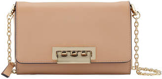Zac Posen Eartha Leather Crossbody Wallet Bag