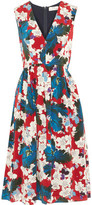 Erdem Ohana Floral-Print Silk-Chiffon Dress