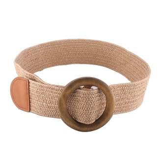 Linea Pelle Straw Stretch Belt