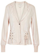 Cream Sweater Blazer