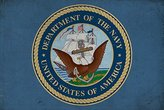 Department of the Navy - Military - Insignia (9x12 Art Print, Wall Decor Travel Poster)