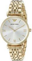 Emporio Armani Women's AR1877 Retro Gold Watch
