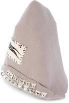 Heikki Salonen - embroidered beanie hat - men - Wool - S