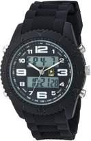 2xist Men's 'U.S. Army' Quartz Metal and Rubber Casual Watch, Color: (Model: 37200028)