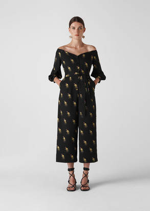 Woodpecker Printed Jumpsuit