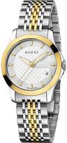 Gucci YA126511 G-Timeless Collection stainless steel and yellow-gold PVD watch