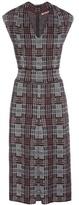 Bottega Veneta Wool-blend Plaid Dress