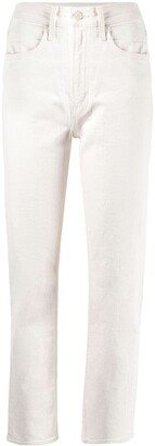 Mother Rider high-rise jeans
