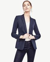 Ann Taylor Petite Pinstripe Blazer