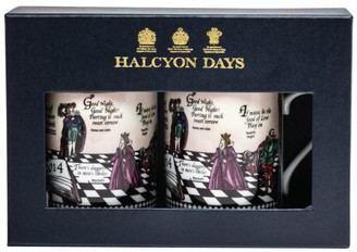Halcyon Days Shakespeare Mug (Set of 2)