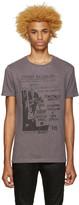 Pierre Balmain Grey Graphic T-Shirt