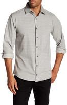 Stone Rose Printed Regular Fit Shirt