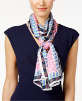 Vince Camuto Moroccan Magic Silk Oblong Scarf