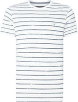 Barbour Stripe Print Dalewood Short Sleeve T-shirt