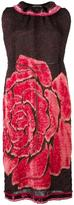 Ter Et Bantine rose print dress - women - Silk/Cotton/Polyamide/Acetate - 38