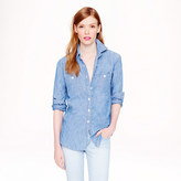 Japanese selvedge chambray shirt