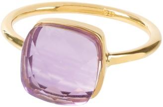 Amadeus Sophia Amethyst Gold Ring