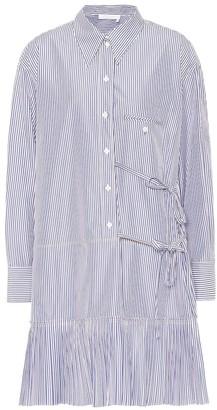 Chloé Striped cotton shirt dress