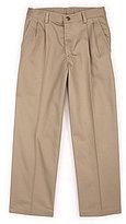 Class Club Modern Fit 2T-7 Slim Pleated Pant