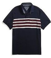 Tommy Hilfiger Men's Custom Fit Stripe Polo