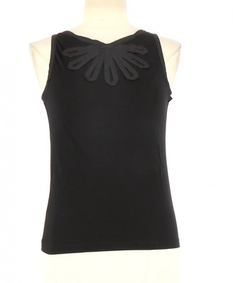 Cacharel Black Cotton Top for Women