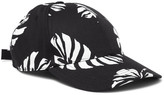 Dolce & Gabbana Banana-leaf Print Cotton-blend Twill Baseball Cap
