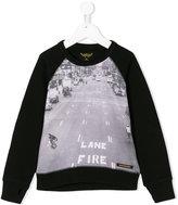 Finger In The Nose Lane Fire sweatshirt