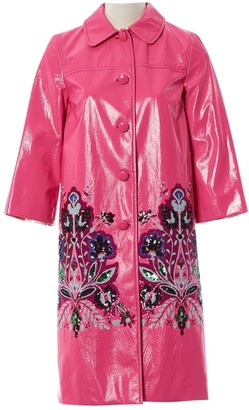 Miu Miu Pink Coat for Women
