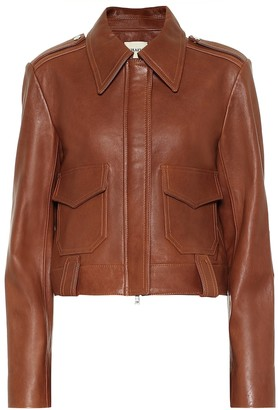 KHAITE Cordelia leather jacket