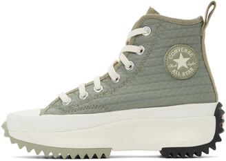 Converse Khaki Run Star Hike Hi Sneakers