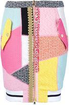 Moschino patchwork skirt - women - Cotton/Polyamide - 44