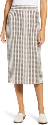 Lou & Grey Bahama Stripe Midi Skirt