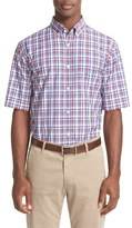 Paul & Shark Regular Fit Plaid Sport Shirt