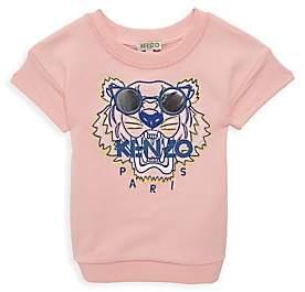 Kenzo Little Girl's & Girl's Summer Tiger Sweatshirt Dress