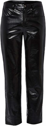 Svenjoyment Men's 21401101710 Faux Leather M Trousers