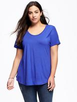 Old Navy Relaxed Plus-Size Scoop-Neck Tee