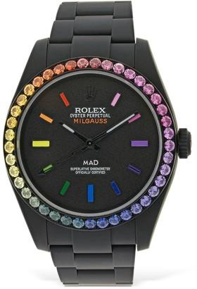 MAD Paris 40mm Rolex Milgauss Rainbow Watch