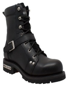"AdTec Men's 8"" Zipper Lace Boot Men's Shoes"