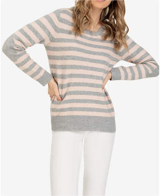 Tribal Elbow Patch Sweater